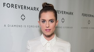 Newlywed Allison Williams