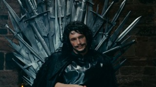 James Franco stars as Jon Snow in AOL's Game of Thrones parody.