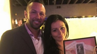 JWoww and Roger Mathews at their rehearsal dinner