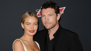 Lara Bingle and Husband Sam Worthington