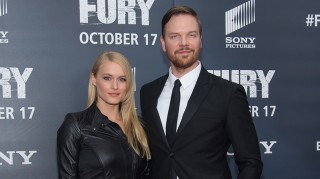 Leven Rambin and husband Jim Parrack
