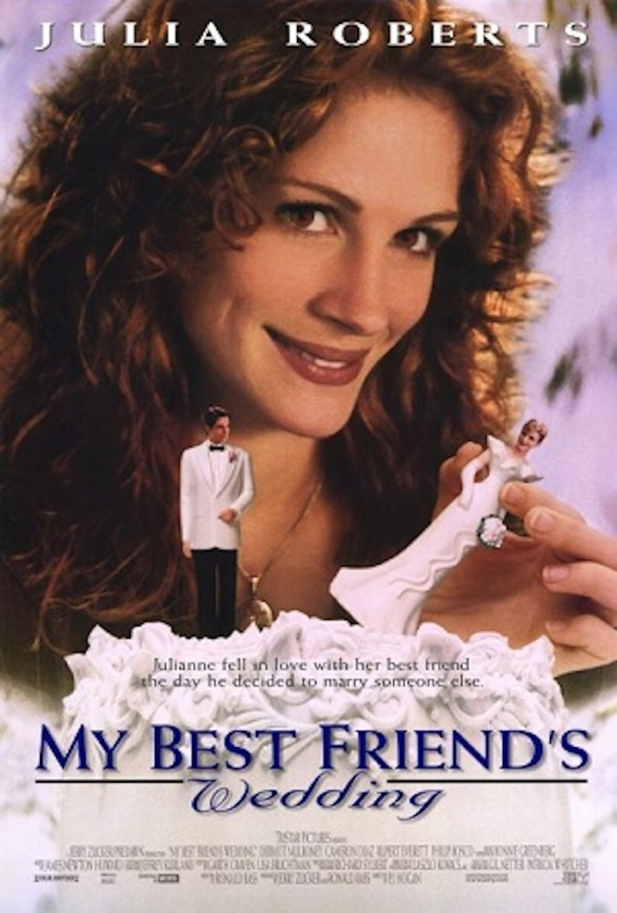 My Best Friend's Wedding movie poster