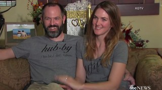 Stephanie and Brian Tobe share story of President Obama crashing their wedding.