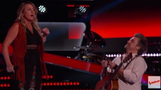 Jubal Lee Young proposes to Amanda Preslar on The Voice