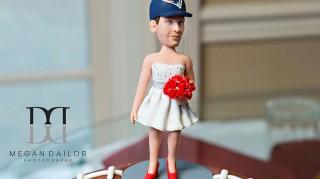 Tom Brady deflategate groom's cake