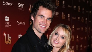 Tyler Hilton and Megan Park share embrace