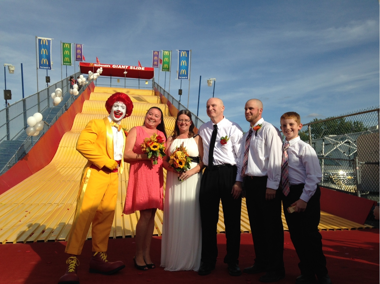 McDonald's wedding party