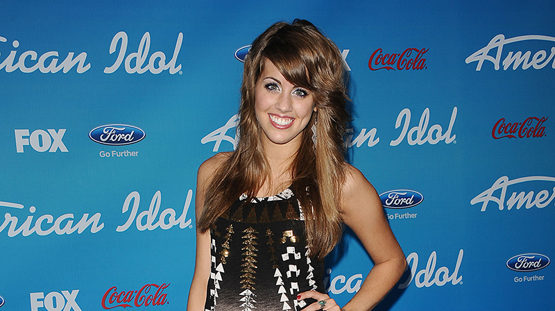 American Idol alum Angie MIller