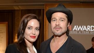 Angelina Jolie and husband Brad Pitt