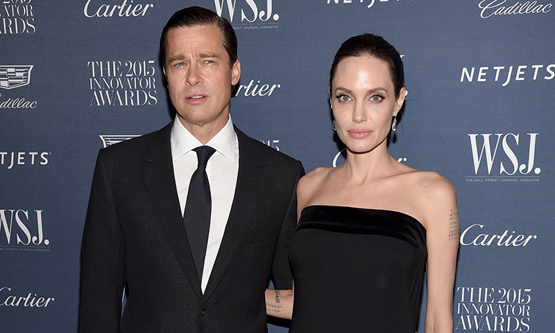 Angelina Jolie and Brad Pitt attend WSJ Innovator Awards