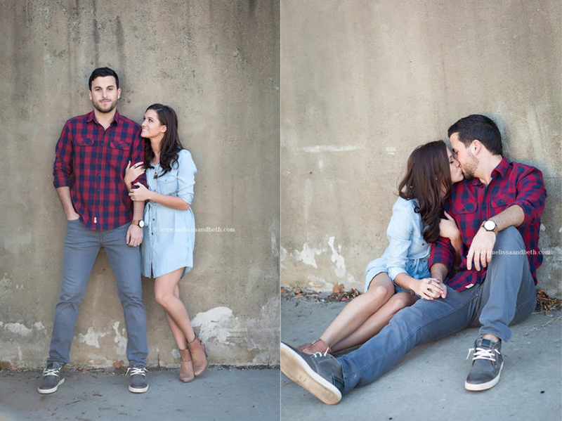 Jade Roper and Tanner Tolbert pose for engagement photos