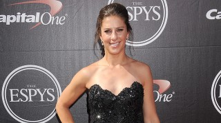 Carli Lloyd at 2015 ESPYs red carpet