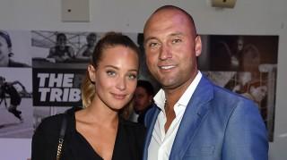 Derk Jeter and fiancee Hannah Davis