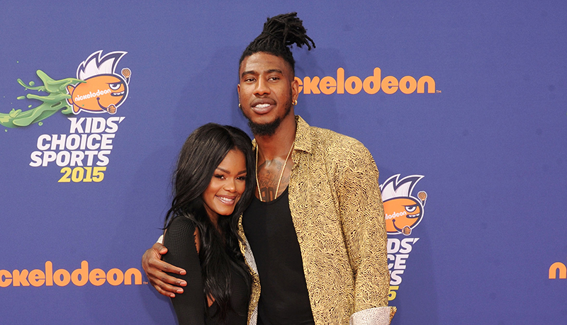 Iman Shumpert and fiance Teyana Taylor