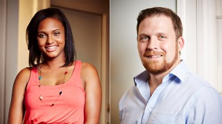 Married at First Sight participants Vanessa Nelson and David Norton