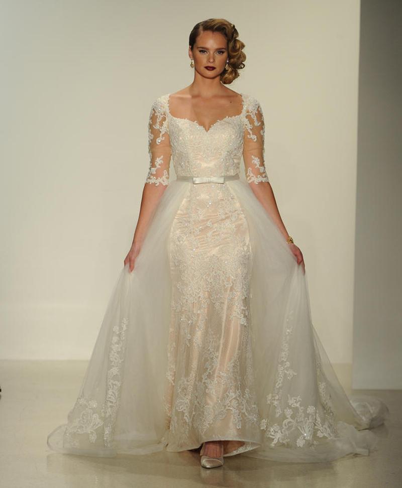 Matthew Christopher Convertible Wedding Dress - The Knot News