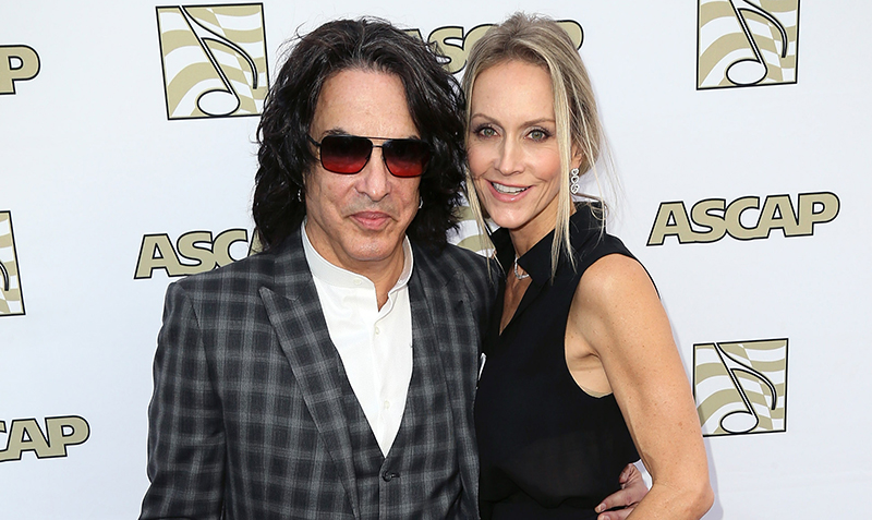 Kiss frontman Paul Stanley and wife Erin Sutton