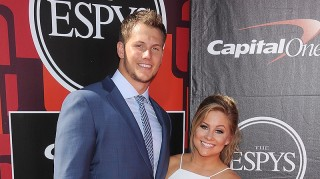 Shawn Johnson and fiance Andrew East