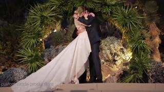 Wedding video of Whitney Port and Tim Rosenman's first kiss
