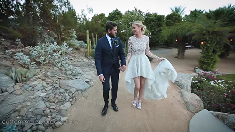 Whitney Port and Tim Rosenman's wedding first look