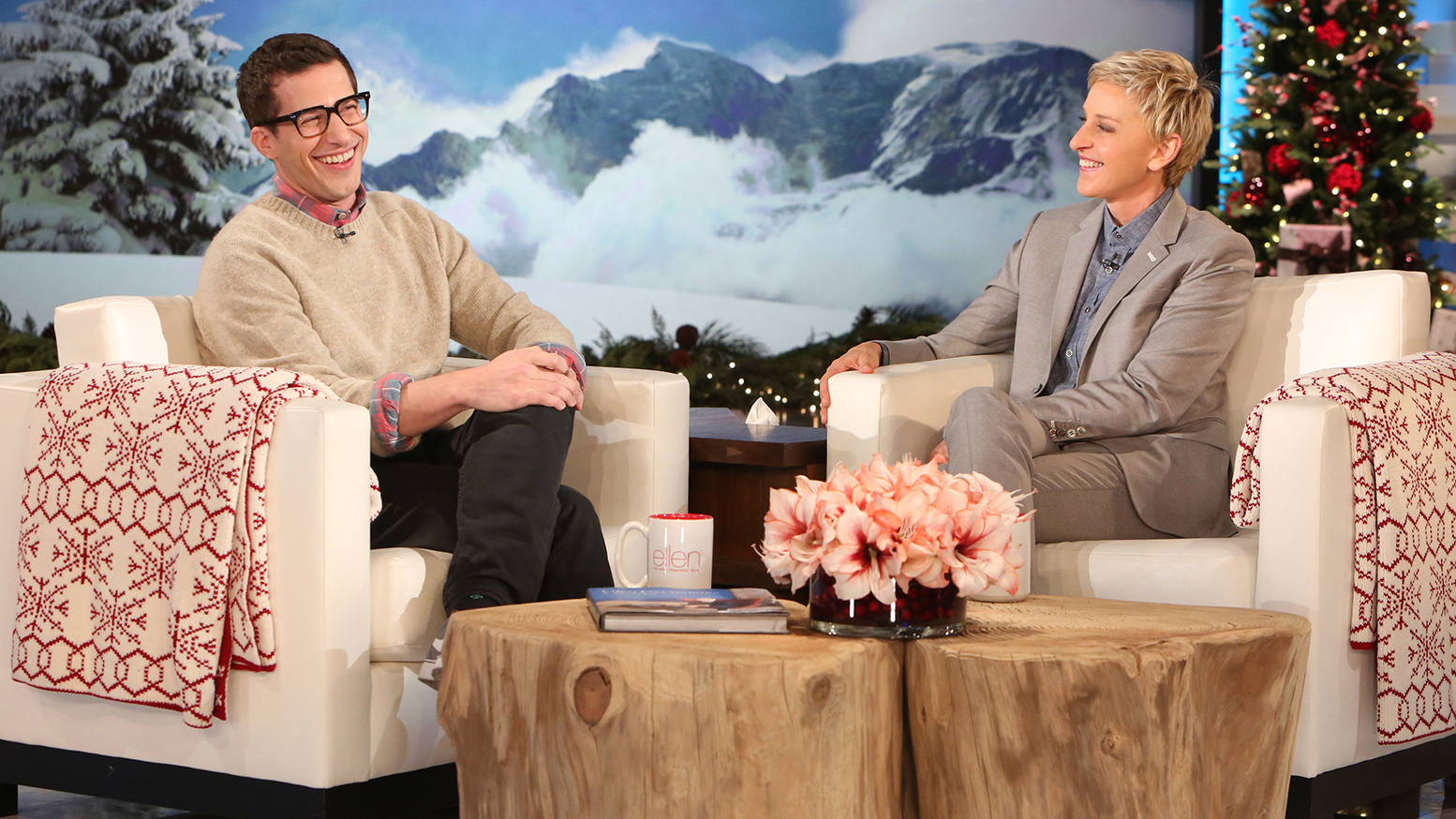 Wedding Gift Giving Etiquette 2015 : Andy Samberg Shares Funny Wedding Anniversary Gifts with Ellen