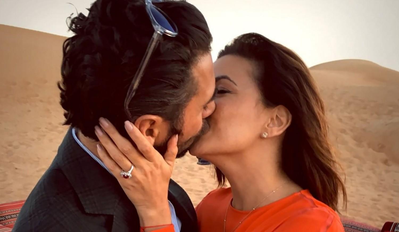 Eva Longoria and Jose Antonio Baston engagement photo