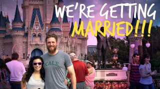 Hunter Pence and Alexis Cozombolidis engagement photo