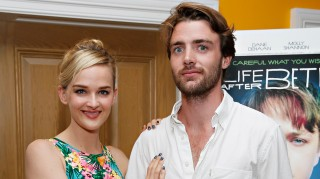 Jess Weixler and husband Hamish Brocklebank