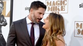 Joe Manganiello and Sofia Vergara at Magic Mike XXL premiere