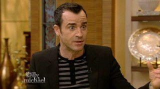 Justin Theroux on Live with Kelly and Michael