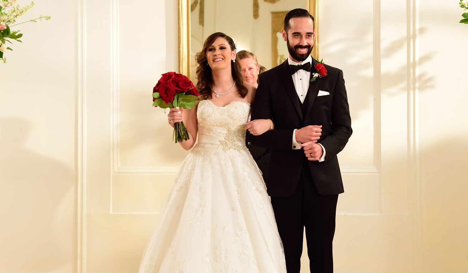 Married at First Sight's Sam and Neil's wedding