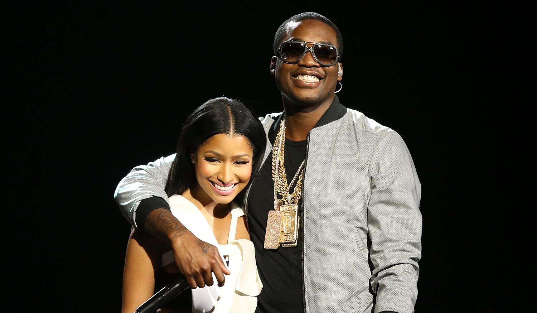 Nicki Minaj and boyfriend Meek MIll