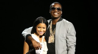Nicki Minaj and boyfriend Meek MIll