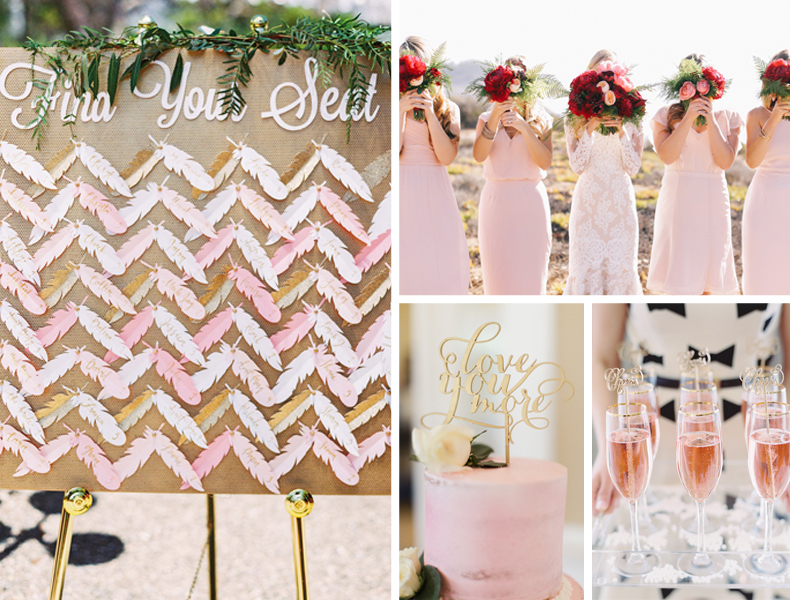 Pantone S 2016 Color 8 Rose Quartz Serenity Wedding Ideas