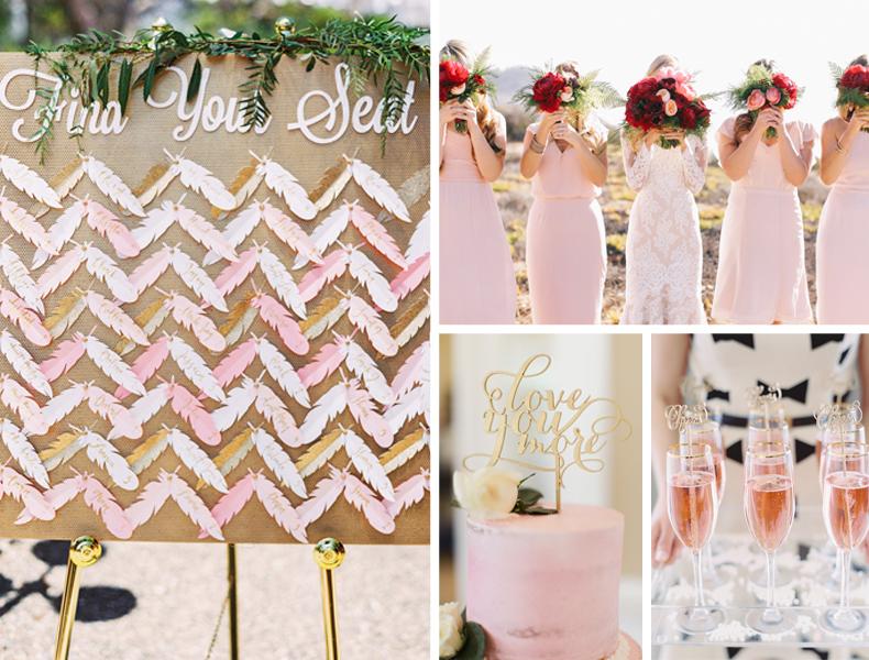 Rose Quartz Wedding Ideas
