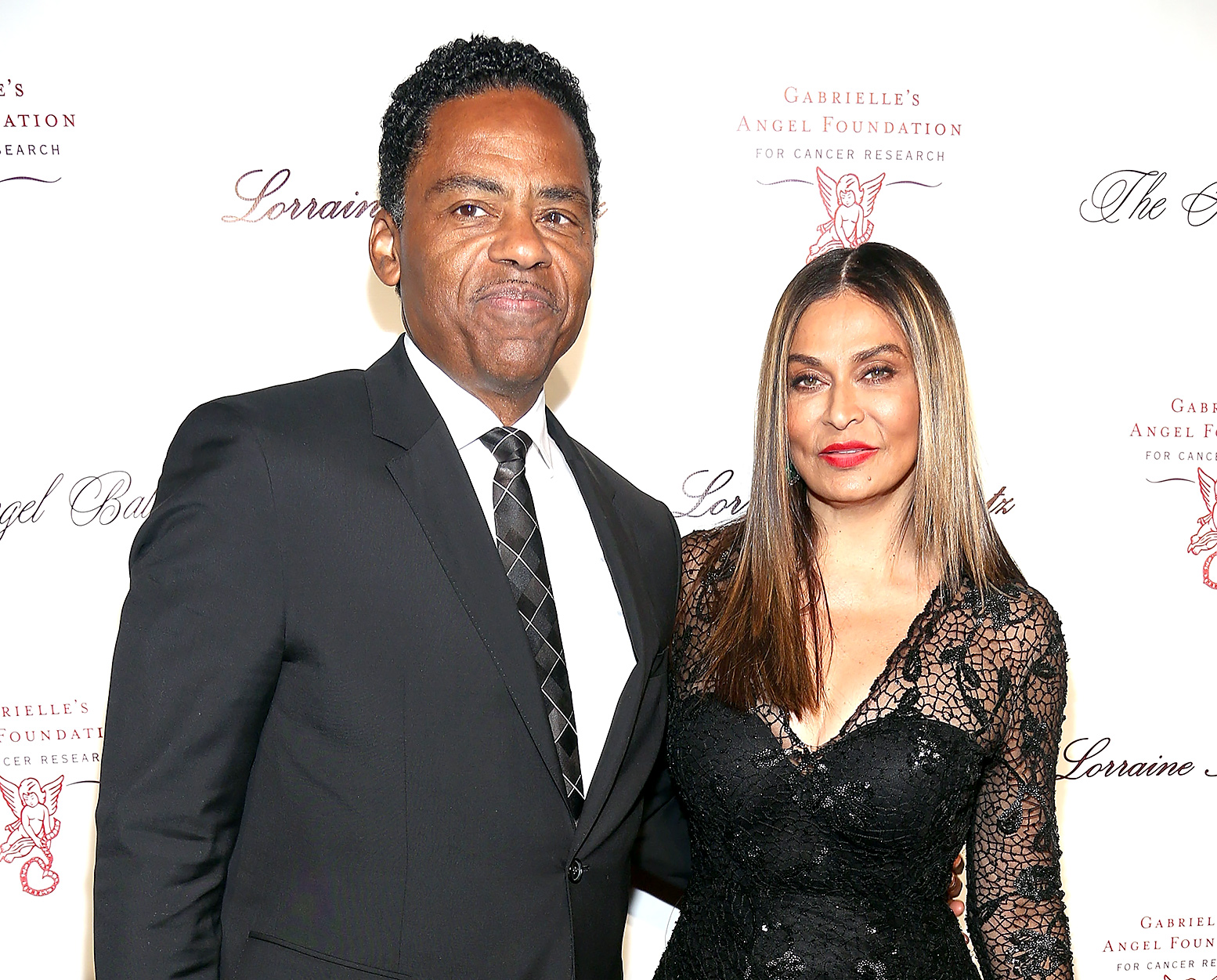 Richard Lawson and Tina Knowles wed on a yacht in April.