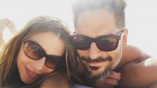 Sofia Vergara and Joe Manganiello honeymoon selfie