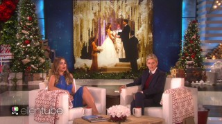 Sofia Vergara on The Ellen DeGeneres Show