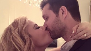 Tara Lipinski is engaged to Todd Kapostasy.