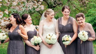Bride asked her 89-year-old grandmother to be one of her bridesmaids in her wedding.