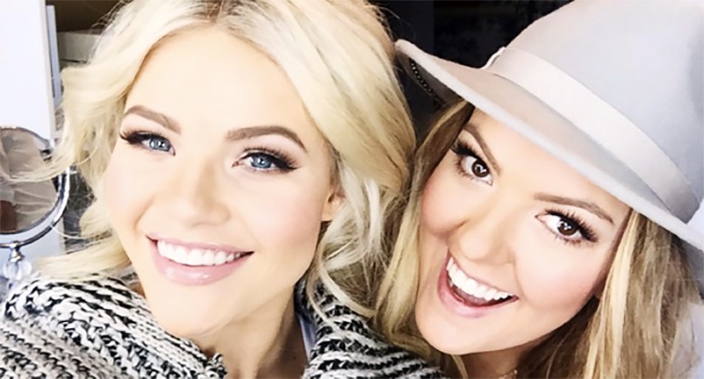 Witney Carson Prepares For Her Bridal Look With Makeup Artist Vivian Johnson