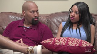 Adonis and Erica Gladney sitting in therapy