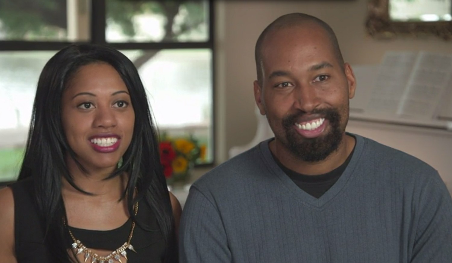 Newlyweds: The First Year's Adonis and Erica Gladney