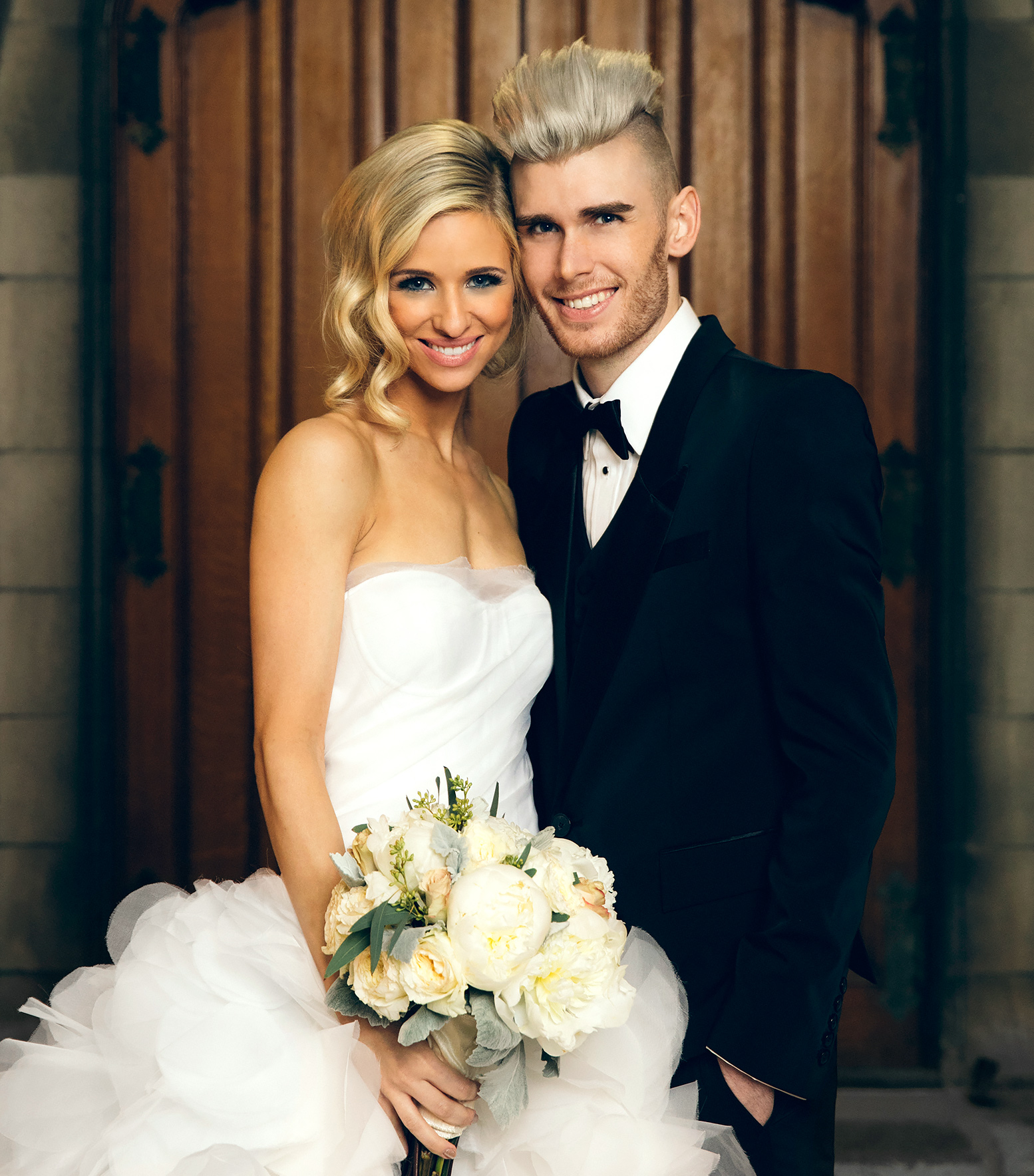 Wedding Photo of Annie Coggeshall and Colton Dixon