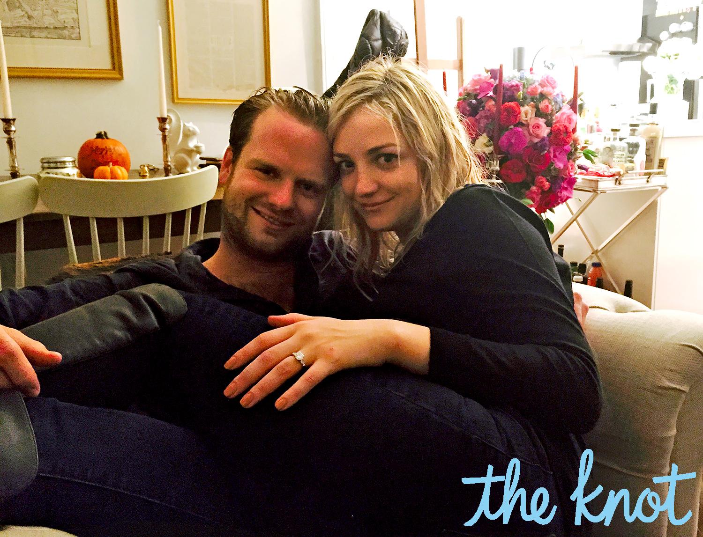 Billy Kennedy and Abby Elliott engaged