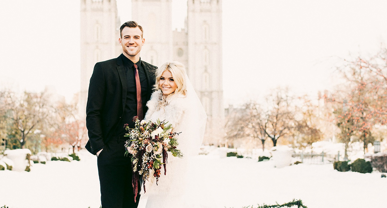 Witney Carson Marries Carson Mcallister On New Year S Day