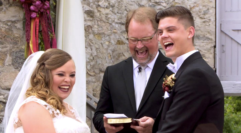 Catelynn and Tyler wedding