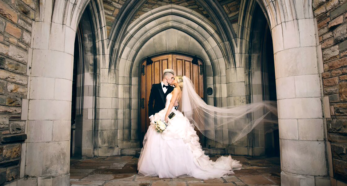 Colton Dixon and Annie Coggeshall wedding photo