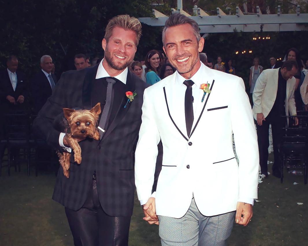Craig Ramsay and Brandon Liberati Wedding