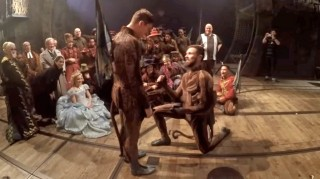 Flying Monkeys get engaged onstage at Wicked